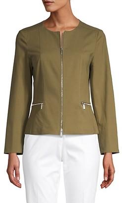 Lafayette 148 New York Noel Cotton Stretch Jacket