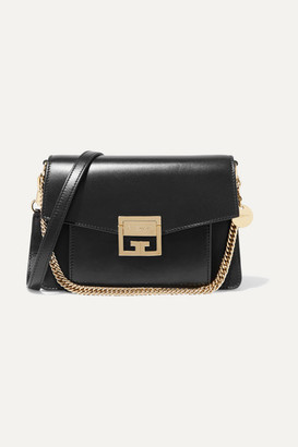 Givenchy Gv3 Small Leather Shoulder Bag - Black