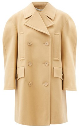 Givenchy Double-breasted Felted-wool Pea Coat - Camel