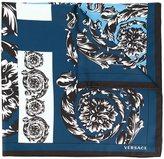Versace baroque spiral scarf - women - Silk - One Size