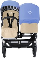 Bugaboo Donkey Duo & Tailored Fabric Set - Black/Jewel Blue (Special Edition)