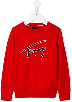 Tommy Hilfiger Junior Branded Sweatshirt