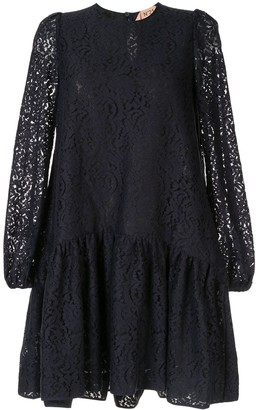 No.21 lace shift dress