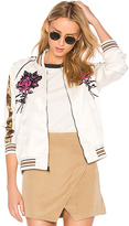 Obey Howl Tour Jacket in Cream