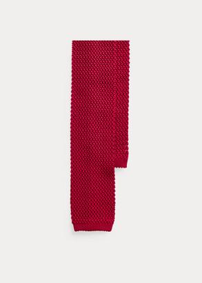 Ralph Lauren Knit Mulberry Silk Tie
