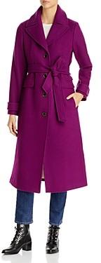 Kate Spade Belted Notch Collar Coat
