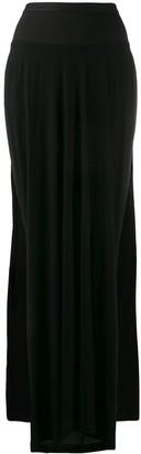 Rick Owens Lilies Slit Skirt