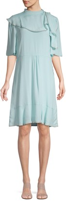 See by Chloe Ruffle Knee-Length Dress