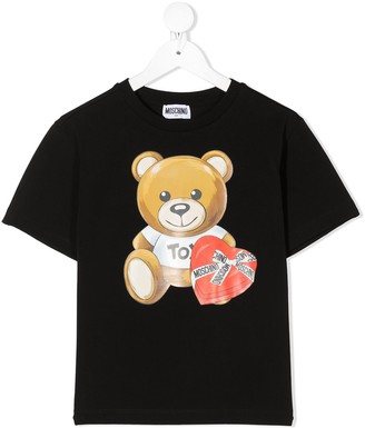 MOSCHINO BAMBINO Teddy Bear T-shirt