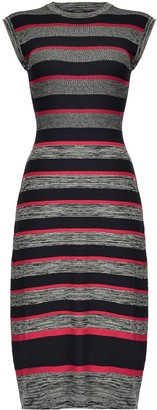 Pinko Stripe Knitted Dress