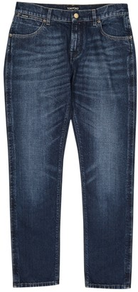 Tom Ford Blue Cotton Jeans for Women