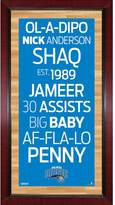 "Steiner Sports Orlando Magic 32"" x 16"" Vintage Subway Sign"