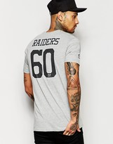 New Era Nfl T-shirt With Raiders Back Print