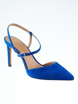 Banana Republic Madison 12-Hour Asymmetrical Strap Pump