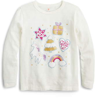 J.Crew crewcuts by Holiday Favorites Long Sleeve Tee