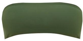 JADE SWIM All Around Bandeau Bikini Top - Womens - Dark Green