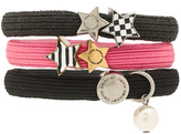 Marc Jacobs Stripe & Checkerboard Cluster Ponys