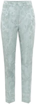 Etro High-rise skinny jacquard pants