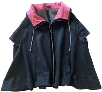La Perla Black Wool Coat for Women