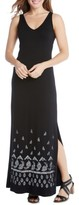 Karen Kane Women's Alana Jersey Maxi Dress
