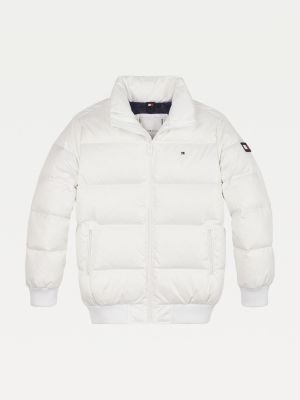 Tommy Hilfiger Reflective Flag Padded Bomber Jacket