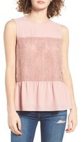 WAYF Women's Lace Tank