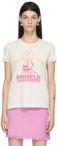 Thumbnail for your product : Marc Jacobs White Peanuts Edition 'Happiness Is' T-Shirt