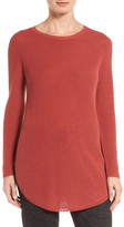 Eileen Fisher Silk & Organic Cotton Tunic Sweater