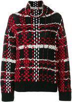 Rag & Bone woven check jumper