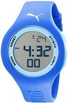 Puma Unisex PU910801035 Loop Digital Display Analog Quartz Blue Watch