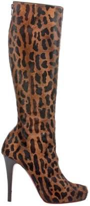 Christian Louboutin \N Multicolour Fur Heels