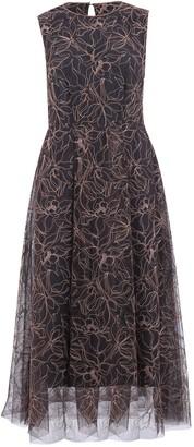 Brunello Cucinelli Sleeveless Embroidered Dress