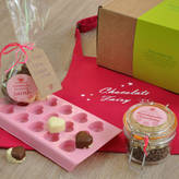 Lily Grace Designs Love Heart Chocolates Kit With Apron