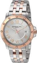 Raymond Weil Men's 'Tango' Swiss Quartz and Stainless Steel Casual Watch, Color: (Model: 5599-SB5-00658)