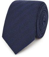 Reiss Haunt Herringbone Tie