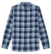 Burton Mens Big & Tall Long Sleeve Brushed Check Shirt