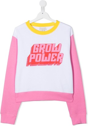 Stella McCartney Kids TEEN Grow Power Sweatshirt