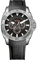 HUGO BOSS BOSS Orange 1512950 Mens Black H-7007 Chronograph Watch