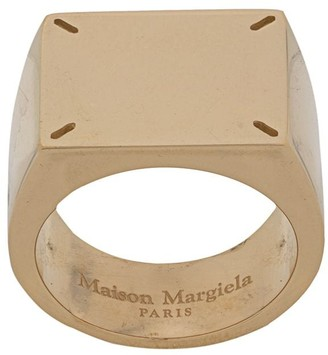 Maison Margiela Four Stitch Signet Ring