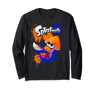 Nintendo Splatoon Orange Inkling Super Splat Long Sleeve Tee