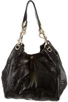 Jimmy Choo Snakeskin Hobo