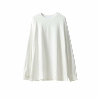 Hosd Casual round neck sweater women autumn clothes women's early autumn loose long-sleeved top Black