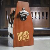 """Cathy's Concepts Cathys concepts Drink Local Brew"""" Craft Beer Carrier"""