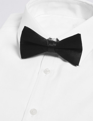 Marks and Spencer Pure Silk Pre-tied Bow Tie