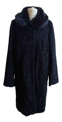 Jigsaw Black Synthetic Coats