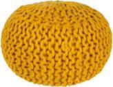 Surya Handmade Knit Pouf