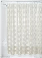 InterDesign Decorative PEVA 3G Shower Curtain Liner, PVC-Free, Mold and Mildew Resistant, Odorless, No Chemical Smell-Stall 54-Inch X 78-Inch