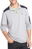Izod Long-Sleeve Quarter-Zip Performance Pullover Shirt