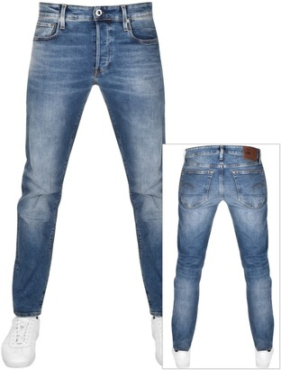 G Star Raw 3301 Straight Tapered Jeans Blue