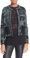 M Missoni Women's Metallic Tweed Jacket